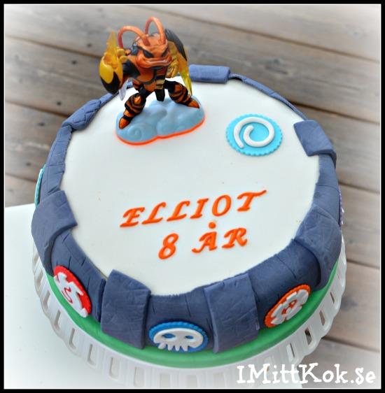 Skylanders-tårta